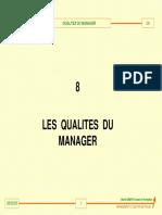 ME8_LesQualités Du Manager