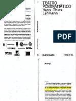 6-Lehmann_Teatro_Posdramático _Prólogo_