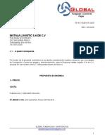 Cotizacion Instala Logistic pdf