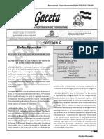 2021 - GACETA-Decreto Ejecutivo Nº PCM-003-2021. Congelamiento Precio GLP. Enero 2021