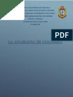 La anarquia de Colombia