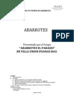Proyecto Abarrotes EL PARAIZO