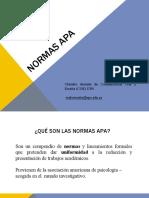 NORMAS APA UPS