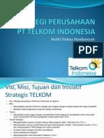 STRATEGI PERUSAHAAN PT TELKOM INDONESIA