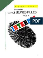 Georges Toudouze 12 Cinq Jeunes Filles Face à Interpol 1966