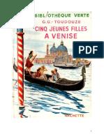 Georges Toudouze 02 1a Cinq Jeunes Filles à Venise 1955