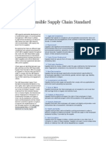 The UBS Responsible Supply Chain Standard[1]