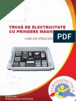 Ghid de utilizare trusa de electricitate