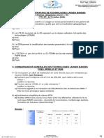 EXAMEN DE RATTRAPAGE DE TECHNOLOGIES LARGES BANDES ITT3-RT_ALT (2019-2020)