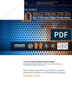 Top 10 Best Practices for VMware Data Protection
