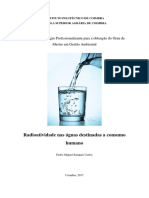 Radioatividade nas águas destinadas a consumo humano_Pedro Carlos_ MGA_2017