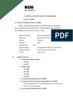 Informe Medio Ambiente Cima Muros - Enero