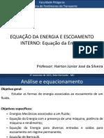 Aula 04 - Equação da energia (Nova)