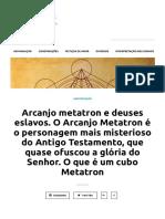 Arcanjo metatron