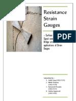 resistance strain gauge