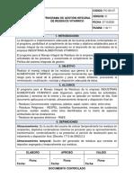 Programa Integral de Residuos Vitarrico