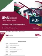 05-05-2021 INFORME DE ACTIVIDADES SEMANAL