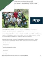 2017-07-01 NOTIRIVAS Canaco Servytur y Seduma Se Unen a La Reforestación de 800 Árboles
