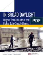 In Broad Daylight Uyghur Forced Labour and Global Solar Supply Chains
