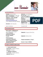 curriculum Simplificado BELEN GARCIA Sept 2020