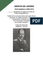 Fundamentos Del Ajedrez - José Raúl Capablanca - ES