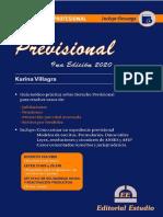 Guia Practica Profesional. Previsional. 2020. Karina Villagra