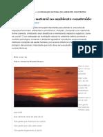A iluminação natural no ambiente construído – Revista AdNormas