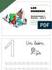 LOS NÚMEROS - Grafomotricidad y Cantidad hasta 9