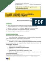 Tema 4. Plan de mantenimiento