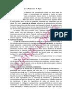 Potencial de Membrana e Potenciais de Açao