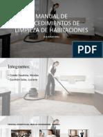 Procedimientos de Limpieza de Habitaciones