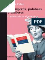 Calvo, Yadira - De mujeres, palabras y alfileres