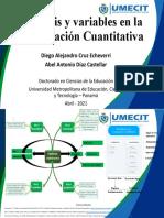 Trabajo_Unidad III_Hipótesis y variables en la investigación cuantitativa_Diego Cruz_Abel Díaz