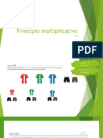 Principio multiplicativo 8 abril