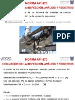 Velocidad de Corrosion, Vida Residual Espesor Minimo de Cañería