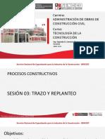 Sesión 03_tecnología de La Construccion