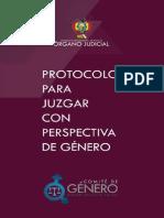 Protocolo Para Juzgar Con Perspectiva de Género