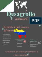 Desarrollo de La Venezuela