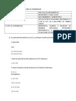 PRE ICFES DE MATEMÁTICAS CLASE 1