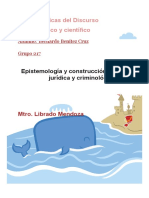 Bernardo Benitez Cruz- Discurso Criminologico - Discurso Cientifico