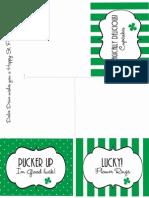 St Patricks Labels