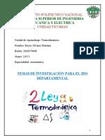 Termodinamica, segunda ley