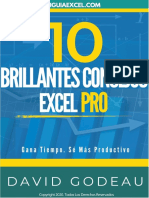 10 Brillantes Consejos Excel Pro