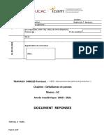 Document reponse   (2020 - 2021) Défaillances et pannes