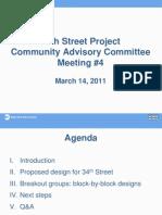DOT plan for 34th Street
