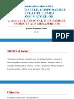 2-Bugetul Personal Si de Familie. Proiecte Specifice