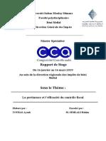 Rapport Du DGI