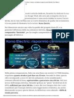 Kona EV vs Kona 1.6 benzina_ con l'elettrico si risparmia, parola di Hyundai. E se _ DMove.it