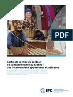 IFC+Morocco+MicroFinance+Crisis+Report.french