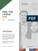 Booklet Beasiswa PNS,TNI, Dan POLRI Tahun 2021